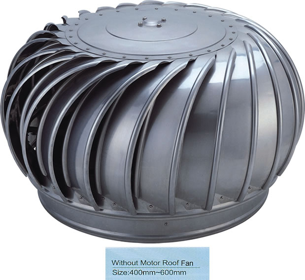 Without Motor Roof Fan